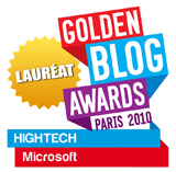 Gagnant du Golden Blog Awards 2010